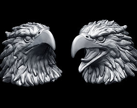 3D printable model Eagle heads