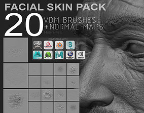 3D model VDM FULL FACIAL SKIN PACK