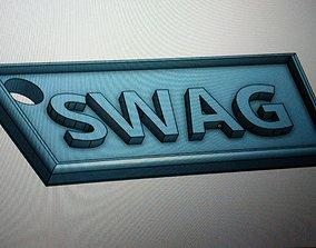 SWAG Keychain 3D print model