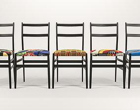 3D model 646 Leggera Chair by Gio Ponti Special