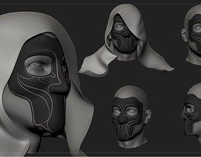 3D printable model Destiny 2 Crows Mask