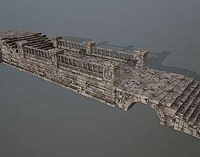 3D asset VR / AR ready ruin set