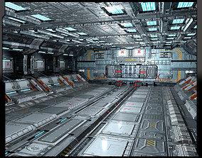 3D model SF Heavy Hangar C5