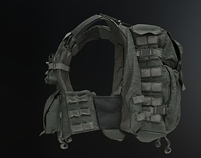 3D BulletProof Vest Backpack