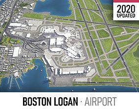 Boston Logan International Airport - BOS 3D asset