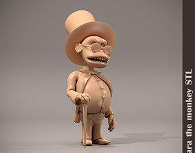 3D printable model Monkey character STL