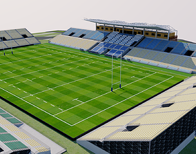 3D model Kamaishi Recovery Memorial Stadium - Japan