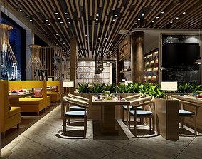 Light Restaurant teahouse cafe drinks clubhouse 298 3D