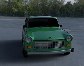 3D model Trabant 601 Estate HDRI