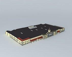 Wegmans Grocery Store 3D model