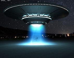 The UFO 3D model