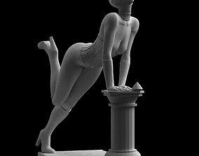 3D printable model Catwoman Diamond Thief Sculpture Art