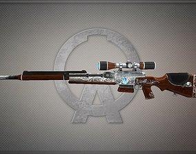 Fr-f2-silver-week Gun-weapon model realtime