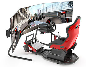 console Racing Game Simulator 3D