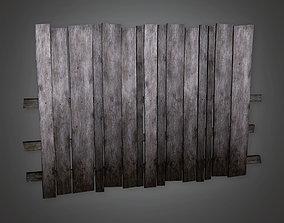 GFS - Outdoor Fence 03 - PBR Game Ready 3D asset