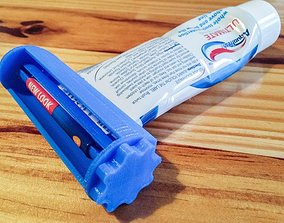tooth Toothpaste Tube Squeezer 3D printable model
