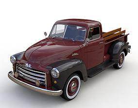 GMC 3100 PICKUP TRUCK 1952 3D