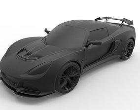 3D printable model Lotus Exige Sport 350 2014
