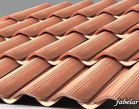 3D model Roofing tiles 2