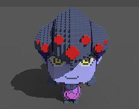 3D asset Widow Voxel