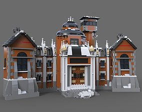 3D Lego house estate
