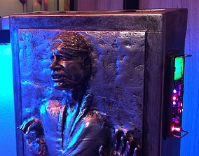 Solo in carbonite HQ 3D printable 1-4 Scale