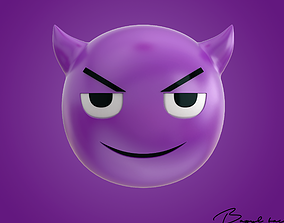 Emoji Evil Demon 3D model