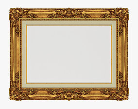 Frame picture gold v3 architectural 3D