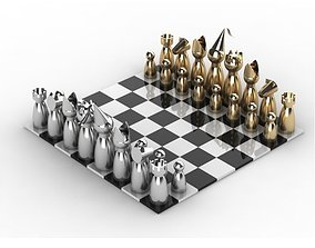 3D print model Chess set
