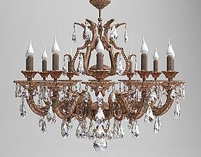 Milano Ornate Chandelier 3D model