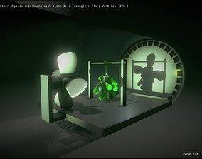 Slime 3 vs Fan 3D
