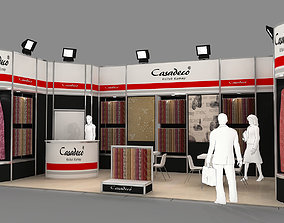 Exhibition Stand - ST0033 3D model