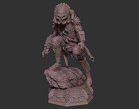 3D print model PREDATOR HUNTER FIGURE