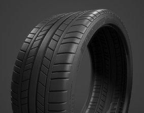 3D model Dunlop Sport Maxx Type Tyre