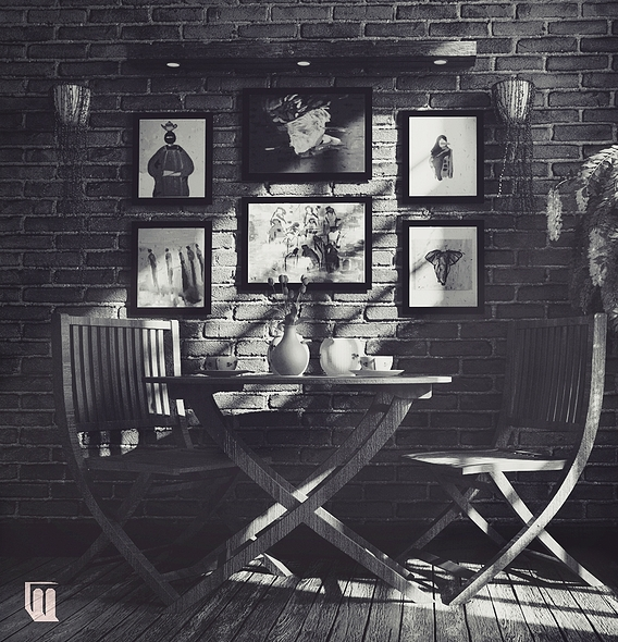Design living corner