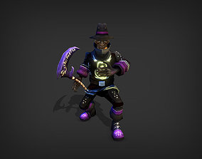 animated Shadow Priest Model