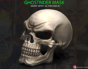 Ghost Rider mask -Danny Ketch - Marvel 3D print model