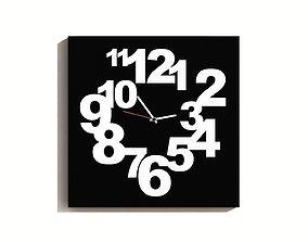 Design Wall Clock 3D model