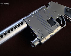 3D printable model NN-14 blaster pistol