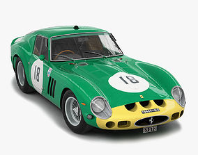 Ferrari 250 GTO - 3767 GT - No Engine 3D model