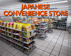 Japanese Convenience Store Pack - Over 400 VR / AR ready 1