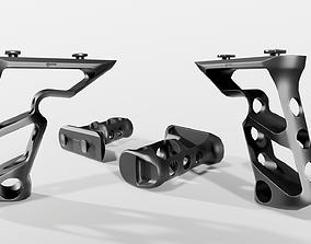 3D model realtime Fortis SHIFT MLOK Vertical Grip