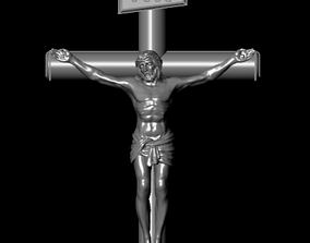 3D printable model Small Jesus Cross