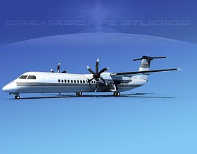 Dehaviland DHC-8 400 Corporate 1 3D