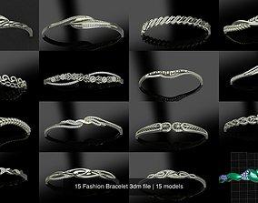 15 Fashion Bracelet 3dm file