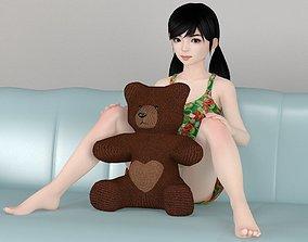 Manami various outfit pose 02 3D