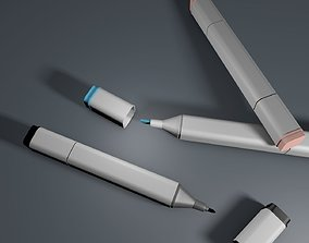 Copic Marker 3D model