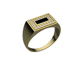 3D model accessory fashion printable Ring