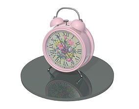 3D model stopwatch Alarm clock
