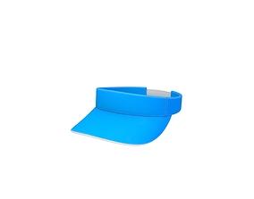 3D asset Visor Cap